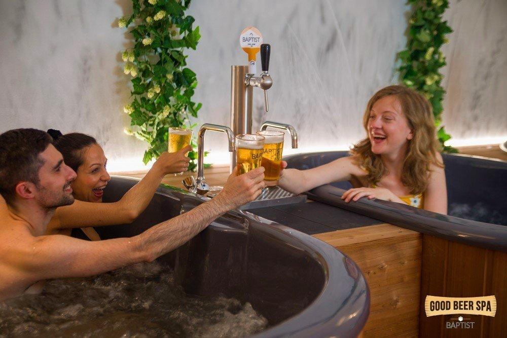 Spa de bière Bruxelles 3 bains